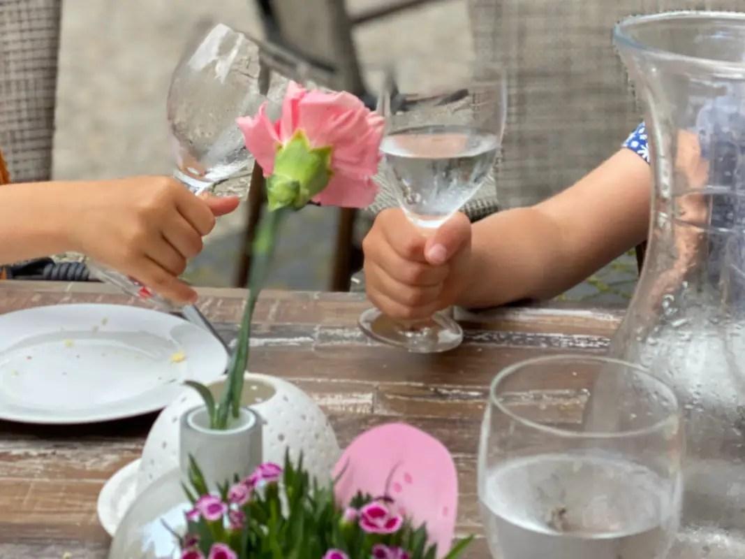 Restaurant mit Kindern