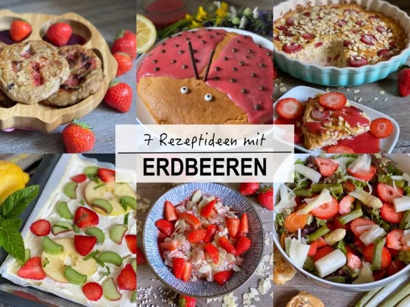 Rezeptideen mit Erdbeeren