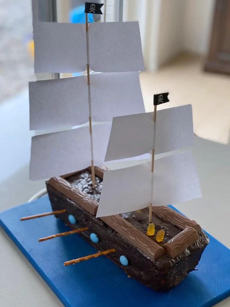 Segelschiff Ruehrkuchen