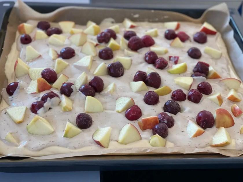 Sommer Obstkuchen