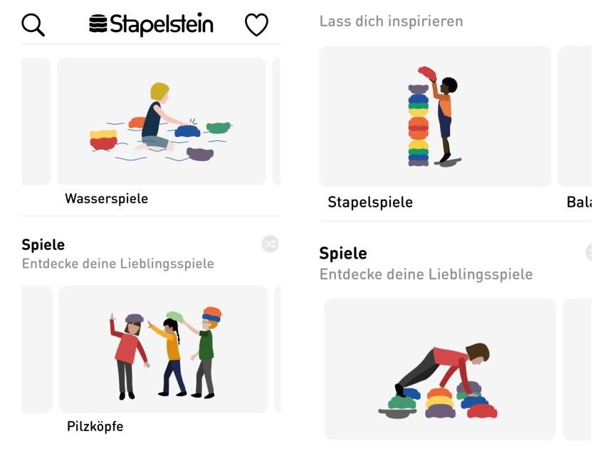 Stapelstein App