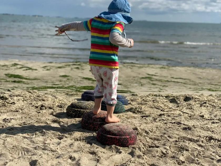 Stapelsteine Strandspielzeug