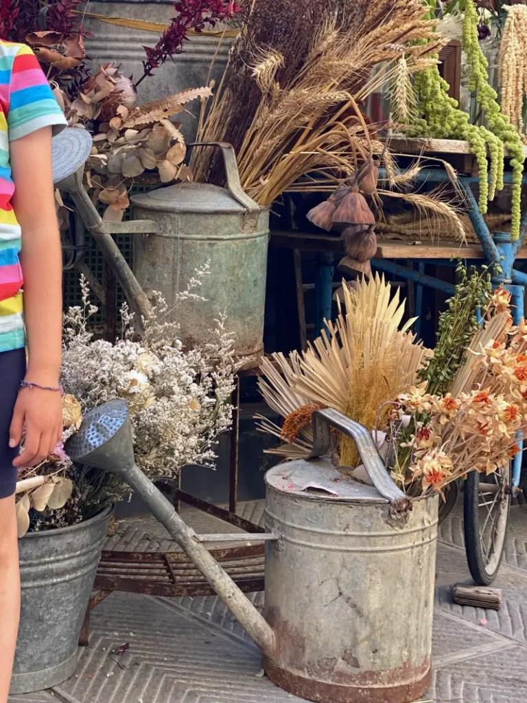 Blumen Markt Florenz
