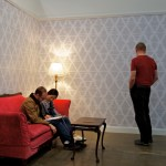 HVCCA, Hudson Valley Center for Contemporary Art, Word, Kristyna and Marek Milde, Home in a Home