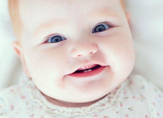 nascimento dos dentes de leite