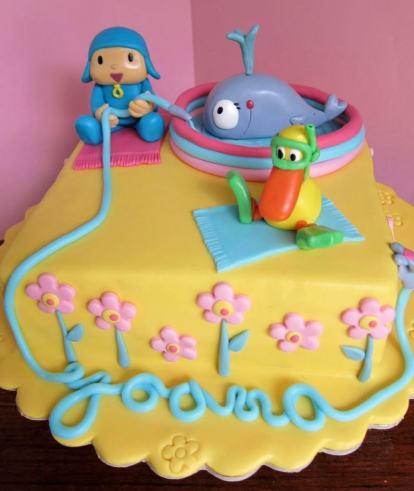 bolo do pocoyo