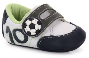 sapatinho bebê futebol