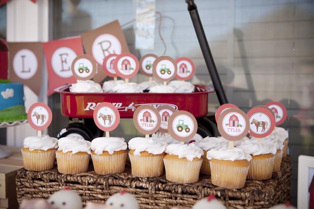 cupcakes festa fazendinha