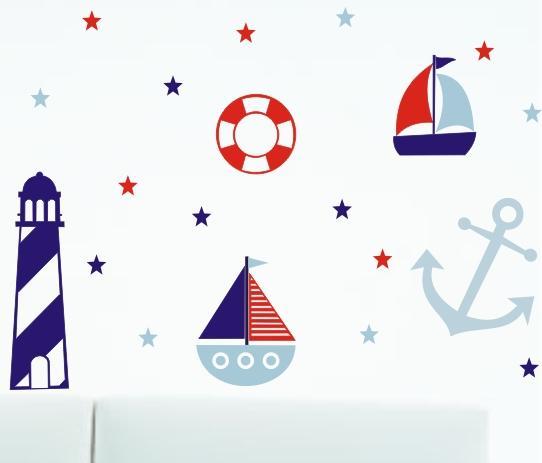 Adesivos de parede no tema, da Stick Out - http://www.stickout.com.br/