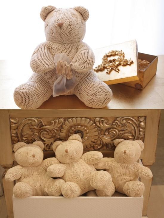 Ursos de tricô da Era uma casa: http://www.eraumacasa.com.br/