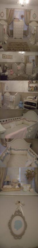 quarto de bebê para gêmeos menino e menina