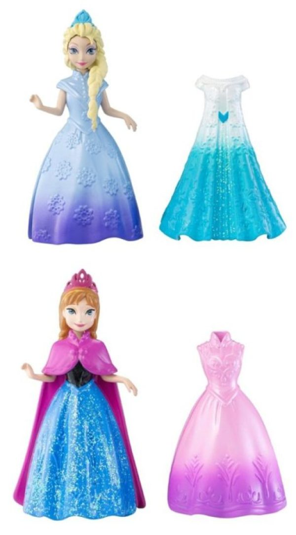bonecas frozen magic clip elsa anna