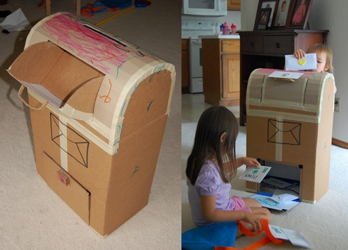 caixa de correio 1-horz