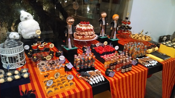 festa harry potter 7