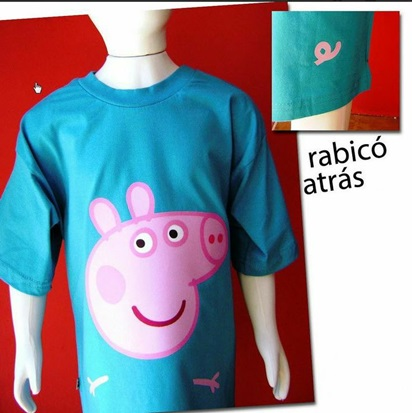 Camiseta do George Pig