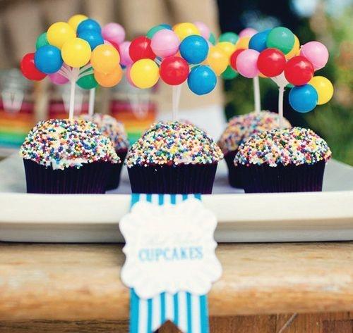 cupcakes doces para festa infantil
