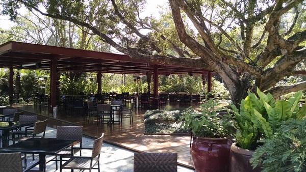 A Figueira: um dos locais mais gostosos do resort