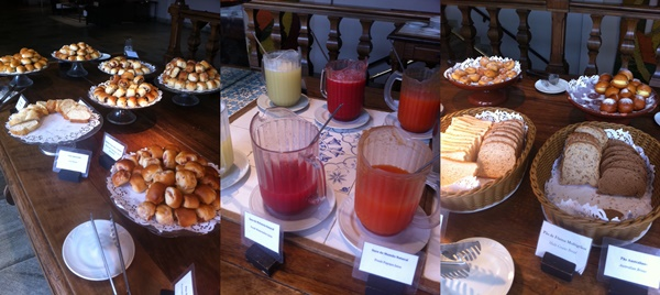 Café da manhã no Casa Grande Hotel