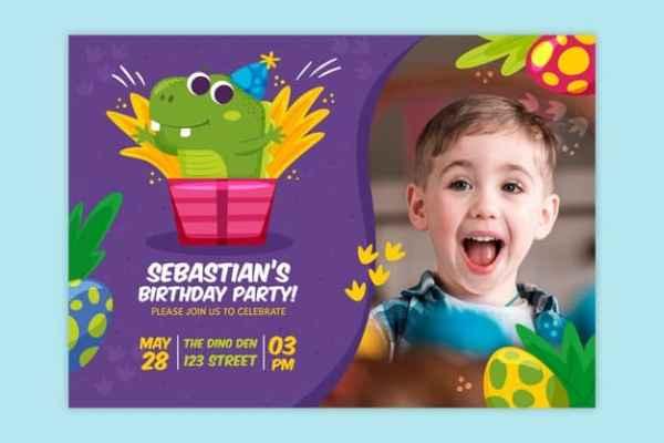 convite festa infantil