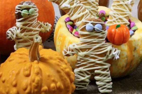 comidinhas de halloween biscoitos