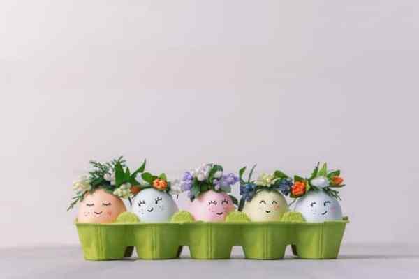 guardar ovos de páscoa