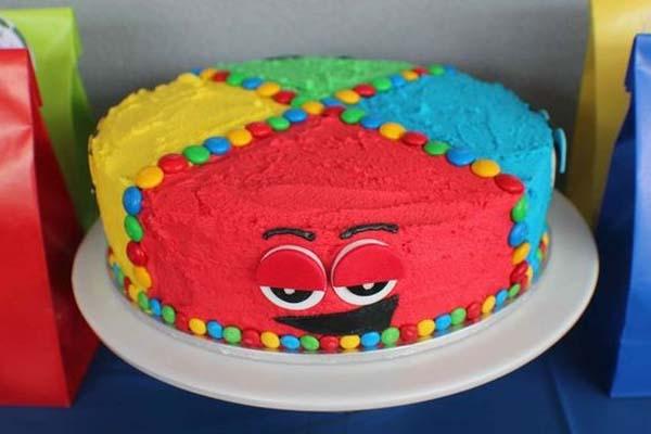 bolo divertidamente