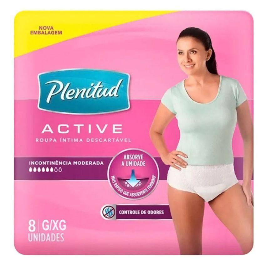 Pacote de calcinha pós-parto descartável
