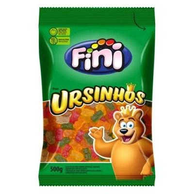 Embalagem de balas de gelatina Fini de ursinhos