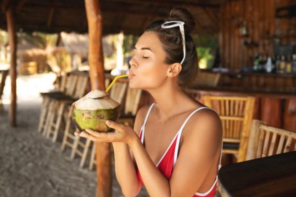 Água de coco na gravidez