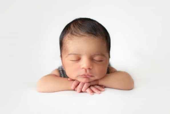 bebê mexicano dormindo