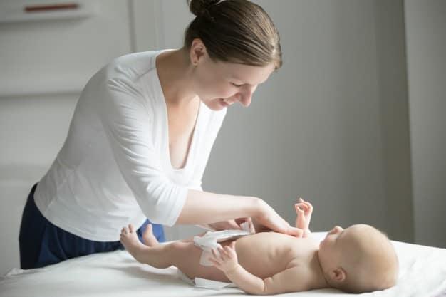 Desfraldar os bebês
