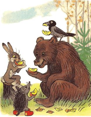 história do urso