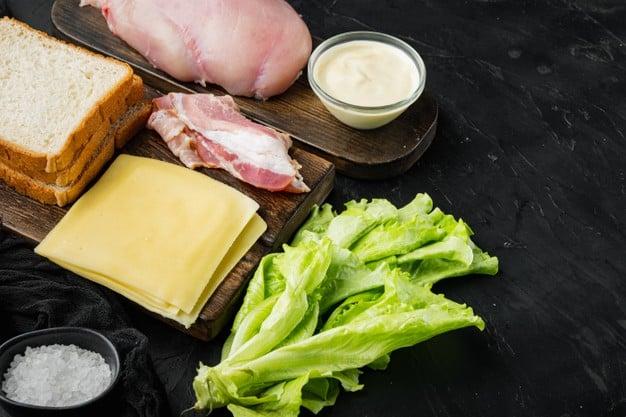 Receitas simples de sanduíches naturais