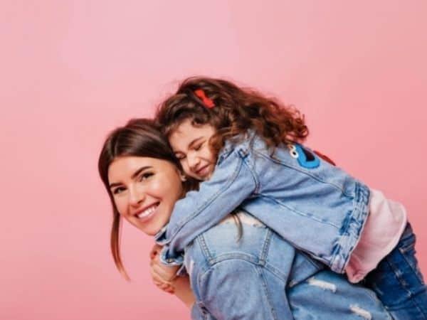 Ensaio fotográfico mãe e filha