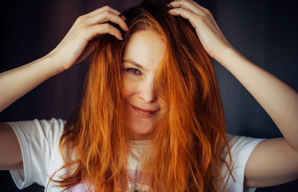 clareando o cabelo em casa