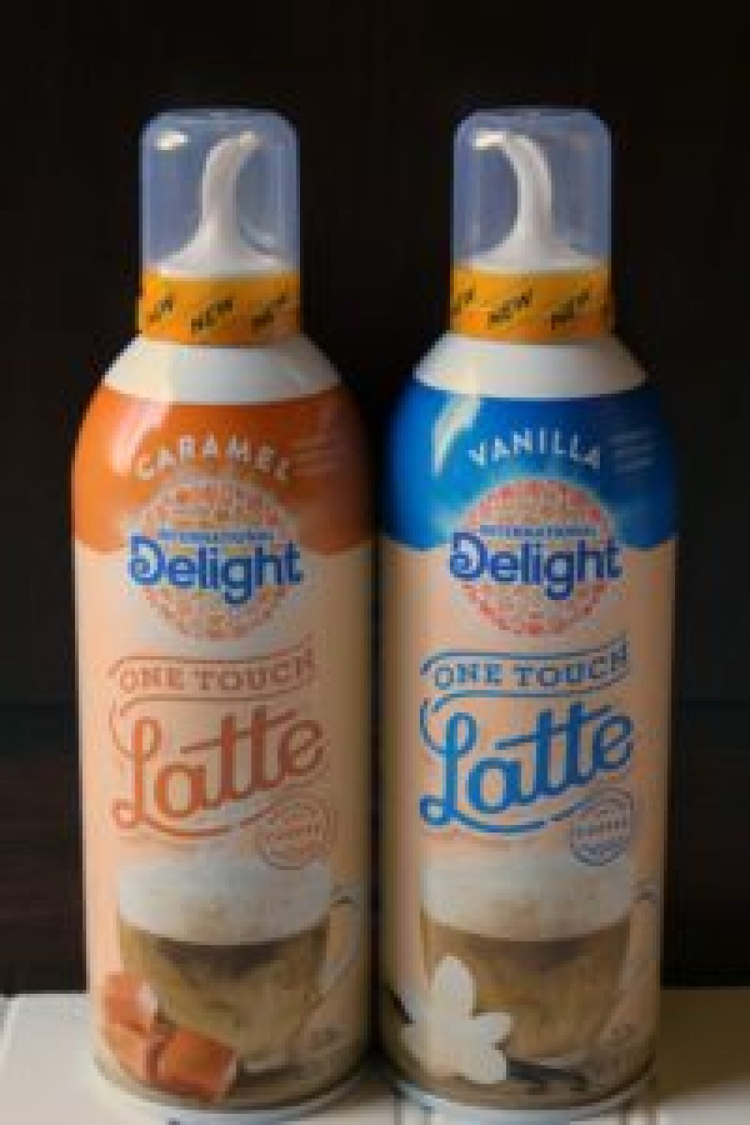 Vanilla One Touch Latte
