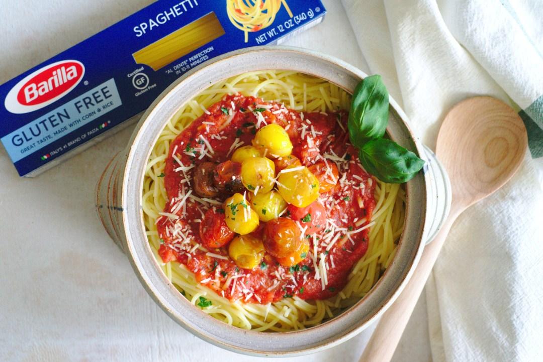 Hot Caprese Pasta