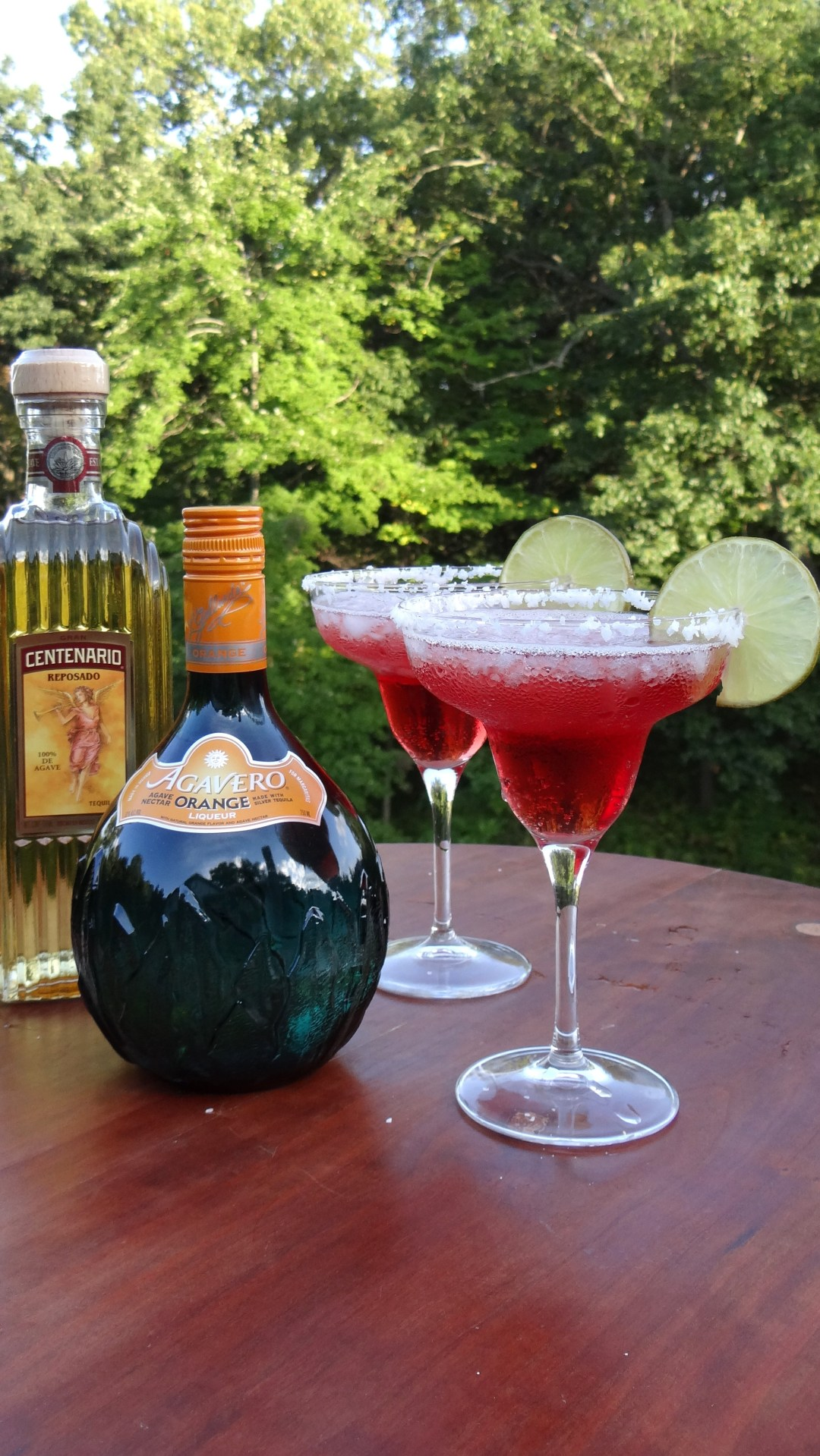 Cranberry Orange Margaritas