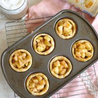 Caramel Apple Snickerdoodle Cookie Cups and Easy Lattes