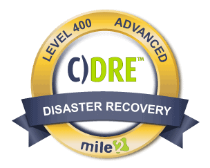 Disaster Recovery Engineer Badge
