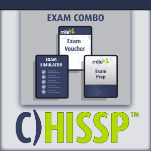 healthcare IS security professional exam combo