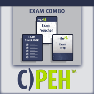 C)PEH Professional Ethical Hacker exam combo