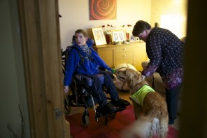 Dogs For The Disabled photo shoot