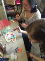 World Jewish Relief team get painting