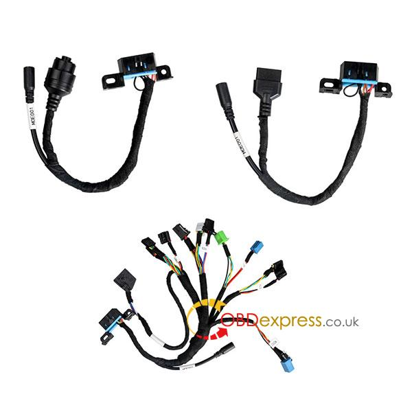New BENZ EIS/ESL cable+7G+ISM + dashboard connector MOE001