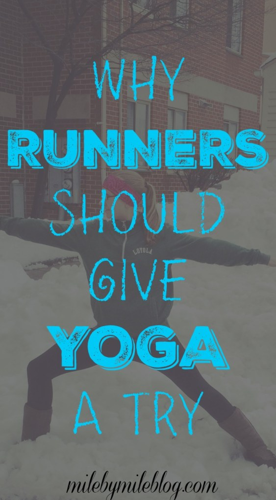 Why Runners Should Give Yoga a Try  #running #yoga