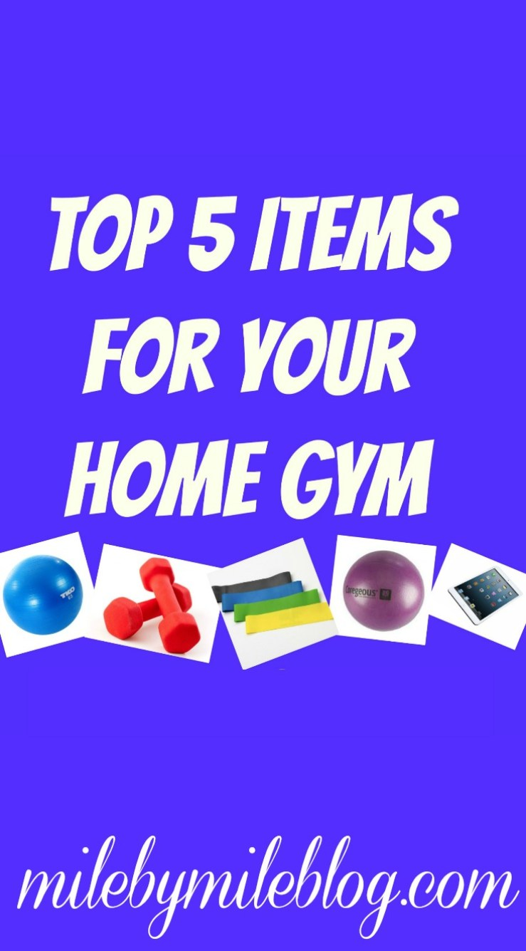 Top 5 Items For Your Home Gym