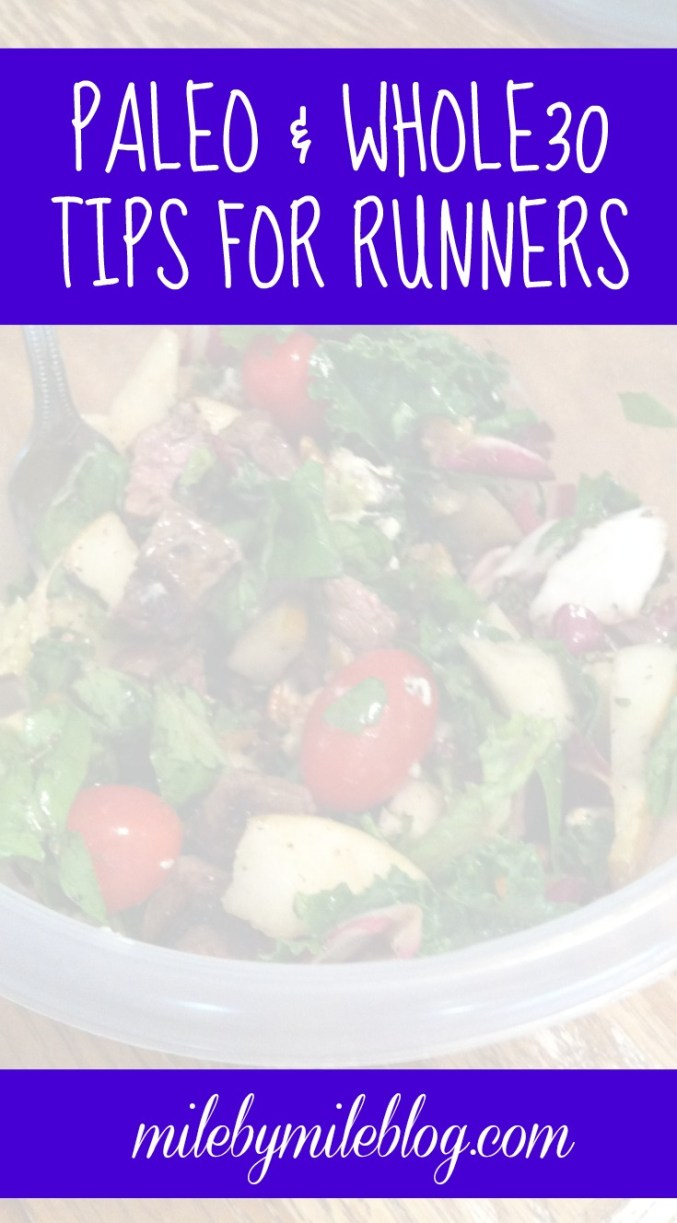 Tips for Trying Paleo or Whole30 as a Runner. #paleo #whole30 #runner #nutrition