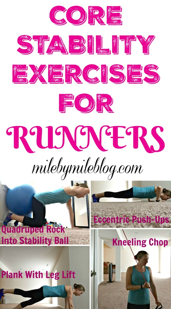 Core Stability Exercises for Runners