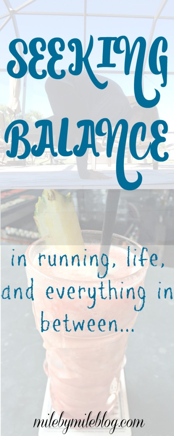 How do we find balance between running, life, and everything in between? #running #balance #training